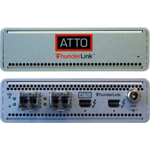 ATTO Thunderlink TB3 2x16Gbe FC SFP+