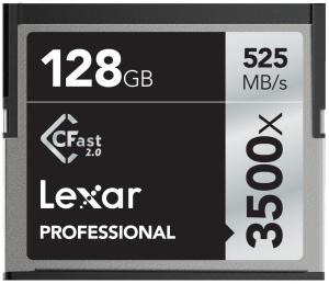 Lexar 128GB CFast Professional 3500X 525MB/s