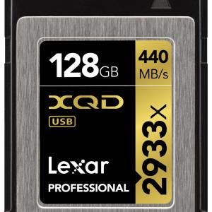 Lexar 128GB XQD Professional 2933X 440MB/s