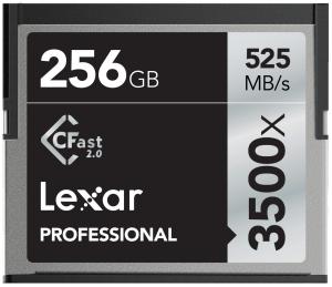 Lexar 256GB CFast Professional 3500X 525MB/s