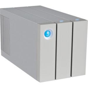 LaCie 2Big Thunderbolt2 & USB3.0 RAID Drive 8TB with cable