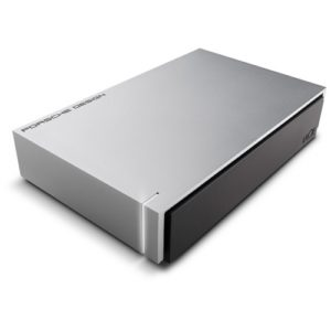 LaCie Porsche Drive 3TB USB3.0 Light Grey