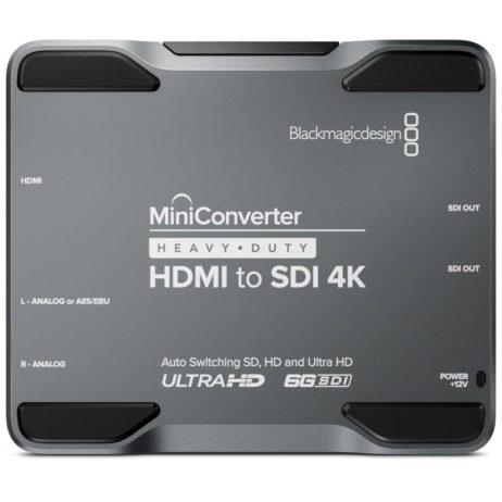BlackMagic Mini Converter Heavy Duty - HDMI to SDI 4K