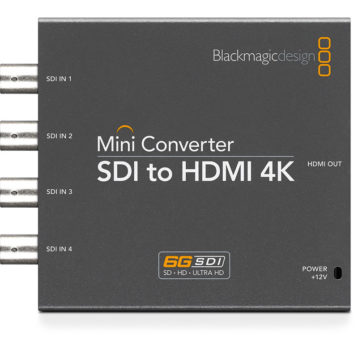 BlackMagic Mini Converter - SDI to HDMI 4K