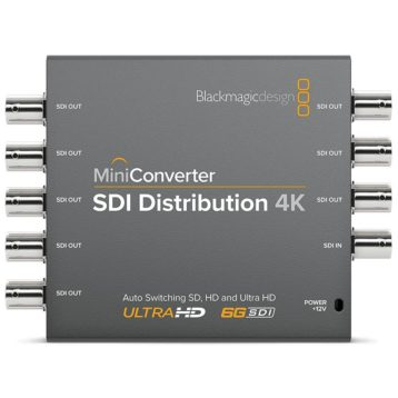 BlackMagic Mini Converters - SDI Distribution