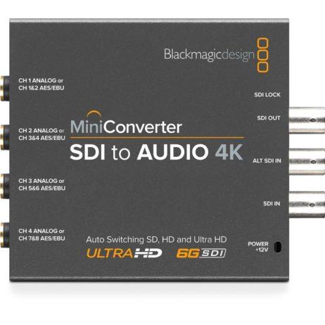 BlackMagic Mini Converters - SDI to Audio 4K