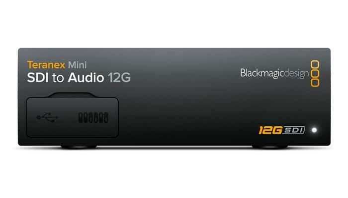 Blackmagic Teranex Mini Sdi To Audio 12g Digital Depot