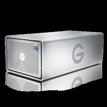G-Tech G-RAID Thunderbolt 2 & USB 3.0 20TB Removable Dual-Drive Storage