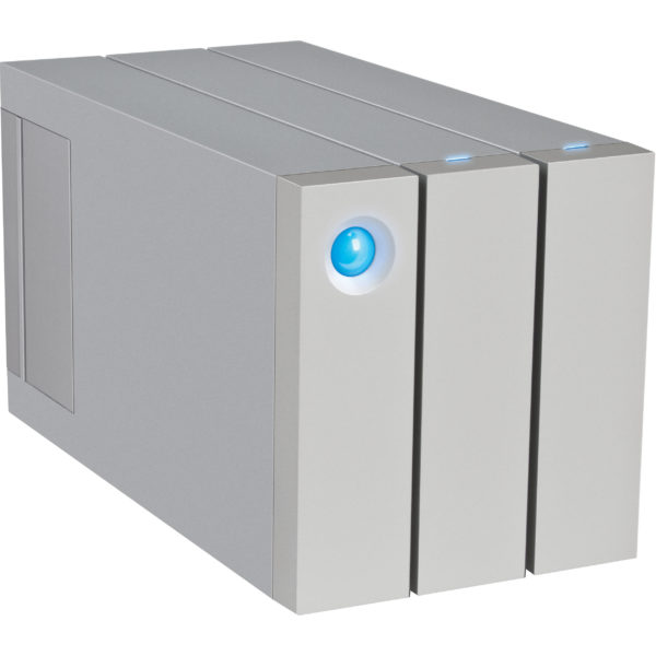 LaCie 2Big Thunderbolt2 & USB3.0 RAID Drive 12TB with cable