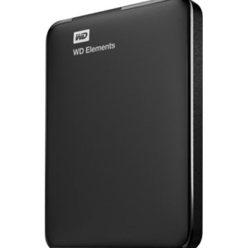 WD Elements 2.5' 1TB USB3.0 Black